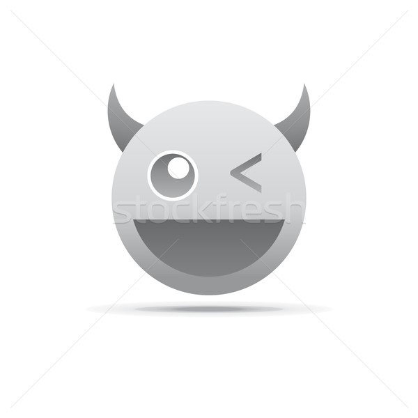 emotion face character icon Stock photo © vector1st