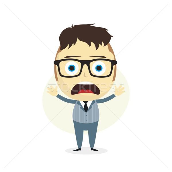 clueless businessman Stock photo © vector1st