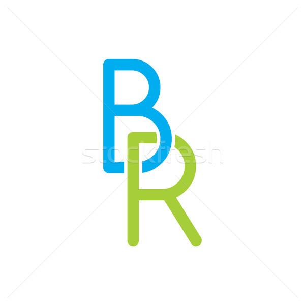 letter initial logotype logo Stock photo © vector1st