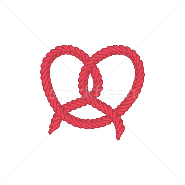 love lasso rope vector Stock photo © vector1st