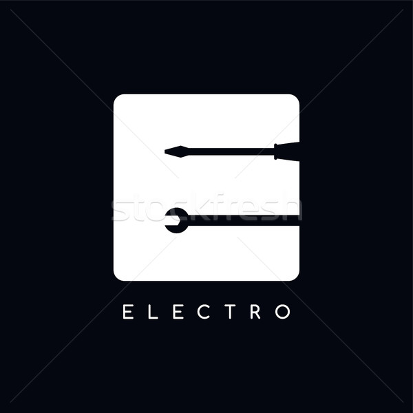 mechanic logotype theme letter E Stock photo © vector1st