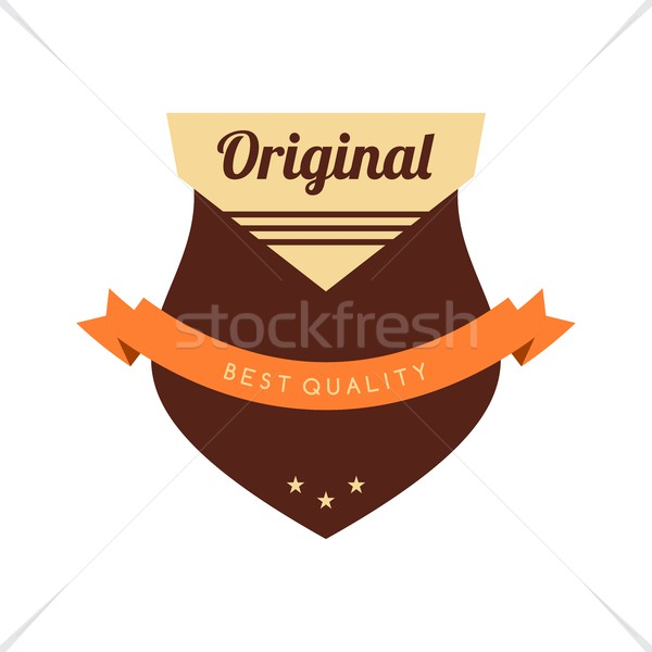 Etiket etiket düzenlenebilir eps format grafik Stok fotoğraf © vector1st