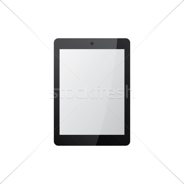 black tablet mock up Stock photo © vector1st