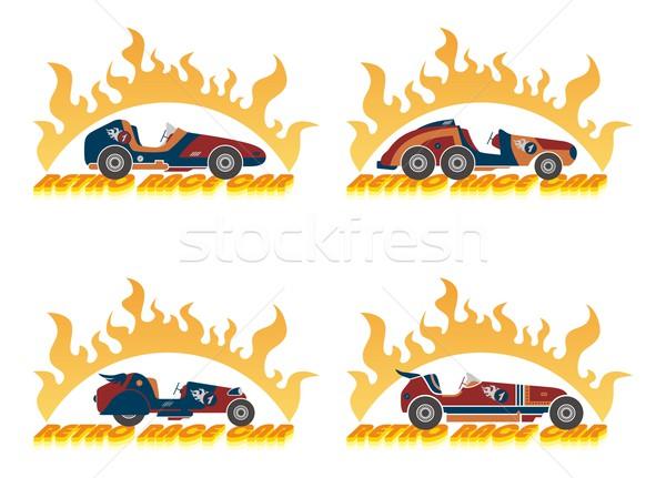 race car Stock photo © vector1st