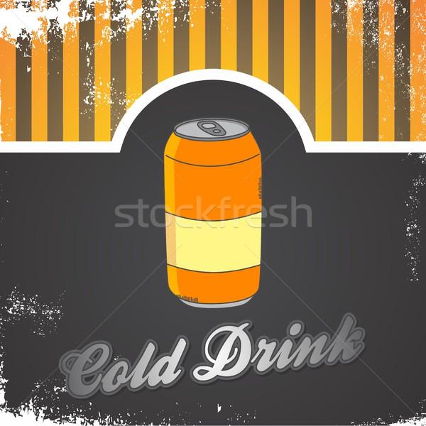 Comida beber vetor gráfico arte Foto stock © vector1st