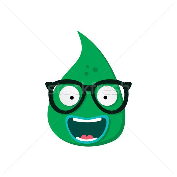Cute adorabile brutto scary divertente mascotte Foto d'archivio © vector1st