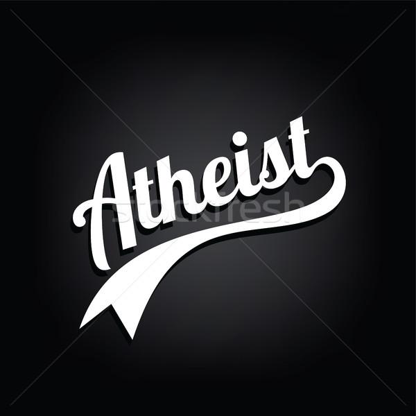 宗教 無知 キャンペーン ベクトル 芸術 神 ストックフォト © vector1st
