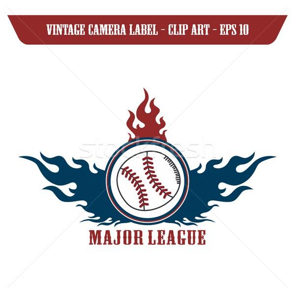 baseball theme Stock photo © vector1st