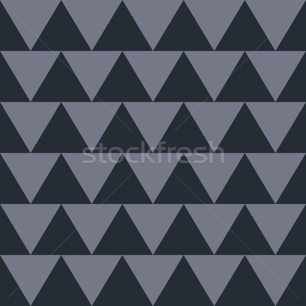 Nativo pattern semplice vettore arte illustrazione Foto d'archivio © vector1st