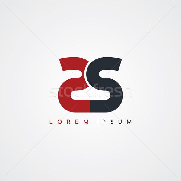initial letter linked uppercase logo Stock photo © vector1st