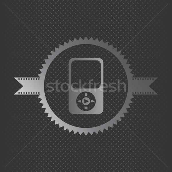 Játék konzol szerkeszthető vektor grafikus művészet Stock fotó © vector1st