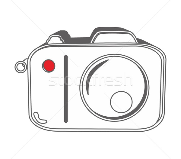 outline object art Stock photo © vector1st