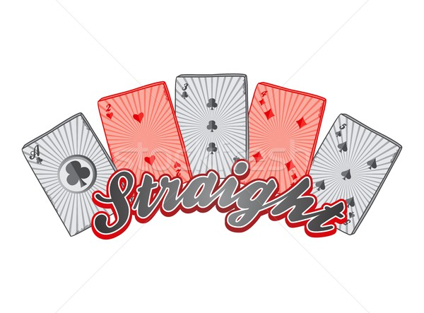 poker theme Stock photo © vector1st
