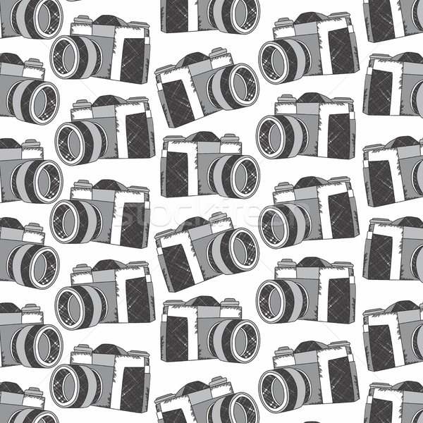 Kamera szerkeszthető vektor grafikus művészet terv Stock fotó © vector1st