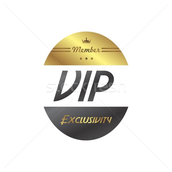 vip member badge Stock photo © vector1st