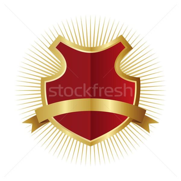 искусства щит вектора графических дизайна иллюстрация Сток-фото © vector1st