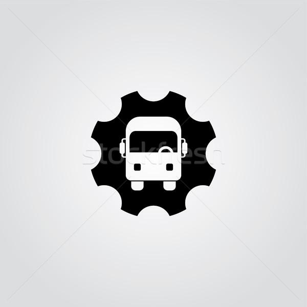 Diş hizmet logo sanat web modern Stok fotoğraf © vector1st