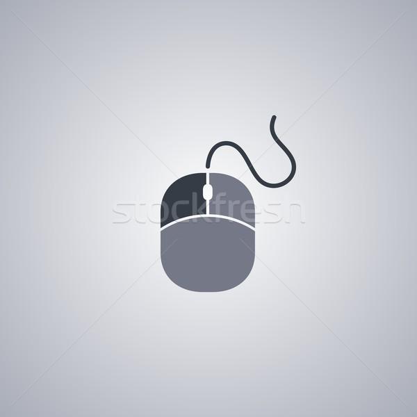 Mouse de computador vetor arte gráfico ilustração negócio Foto stock © vector1st