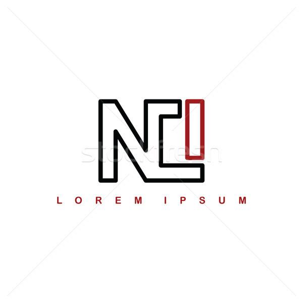 Alfabet scrisoare artă logo-ul vector Imagine de stoc © vector1st