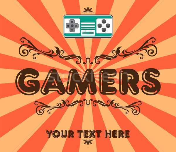 gaming theme Stock photo © vector1st