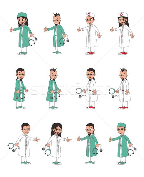 Médico vetor gráfico arte ilustração Foto stock © vector1st