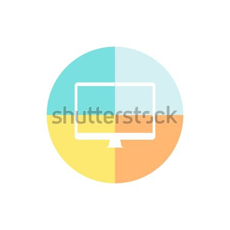 mobile computer device Stock photo © vector1st