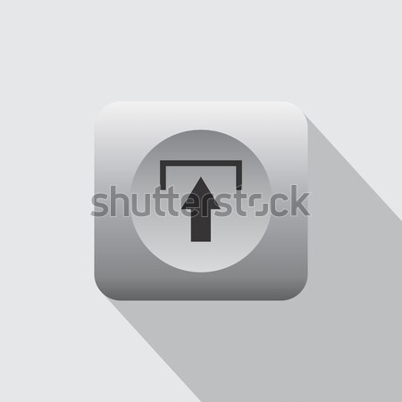 internet upload icon Stock photo © vector1st