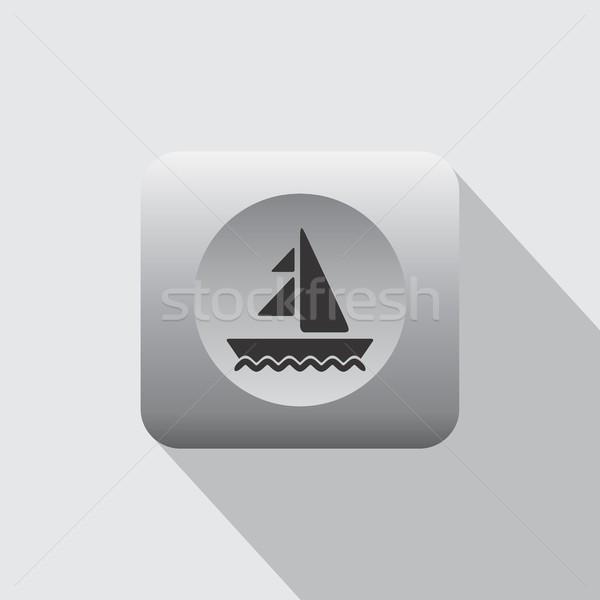 Vacaciones de verano icono signo vector arte ilustración Foto stock © vector1st