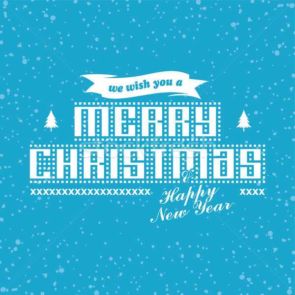 wish you merry christmas Stock photo © vector1st