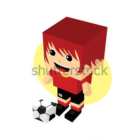 Grupo equipo Rusia torneo de fútbol vector arte Foto stock © vector1st