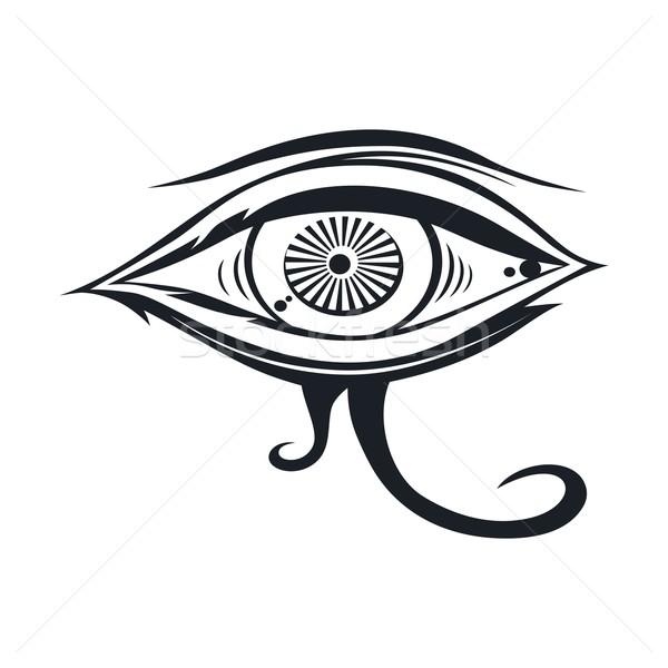 horus eye Stock photo © vector1st