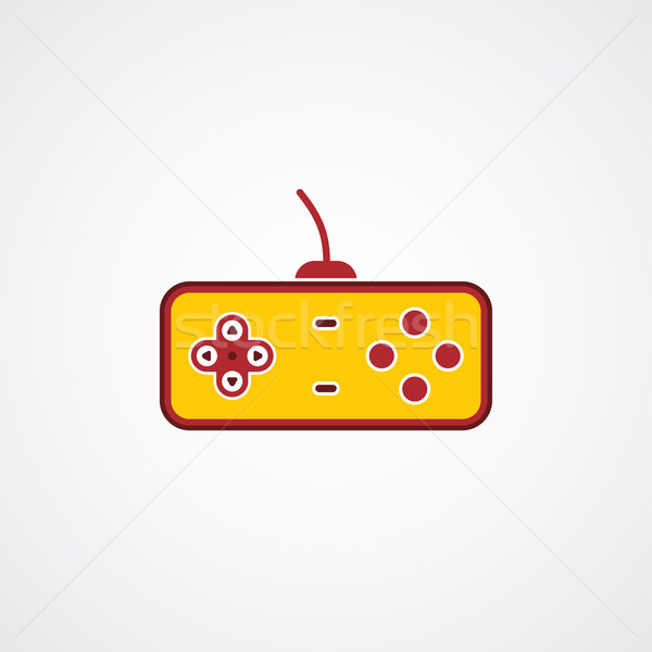 game console joystick Stock photo © vector1st