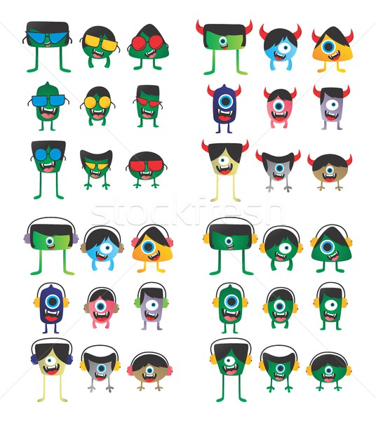 monster character Stock photo © vector1st