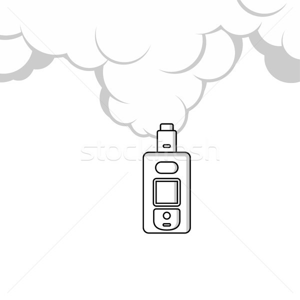 electric cigarette personal vaporizer cloud maker Stock photo © vector1st