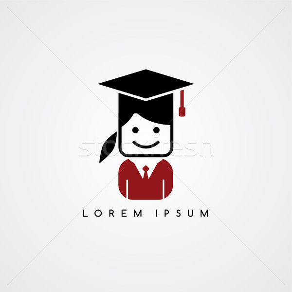 academic college student avatar Stock photo © vector1st