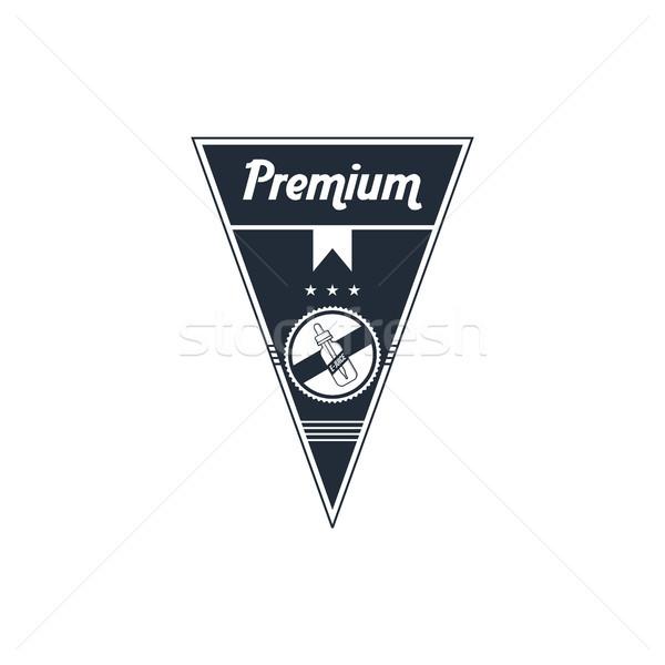 Személyes folyadék címke kitűző szett vektor Stock fotó © vector1st
