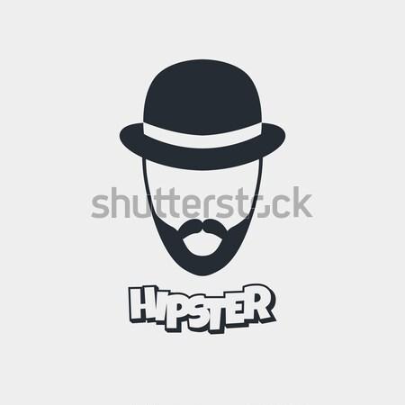 hipster retro geek Stock photo © vector1st