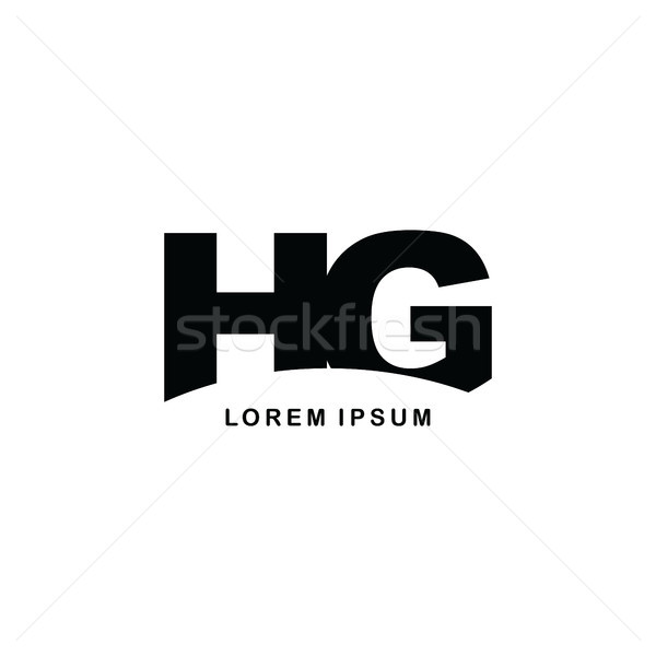 initial letter brand logo template logotype Stock photo © vector1st