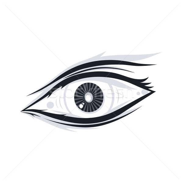 Stock photo: eye illustration