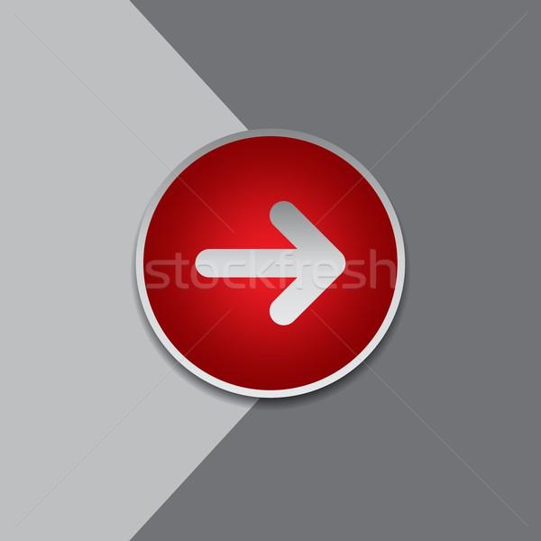 矢印 アイコン ボタン メディア ベクトル グラフィック ストックフォト © vector1st