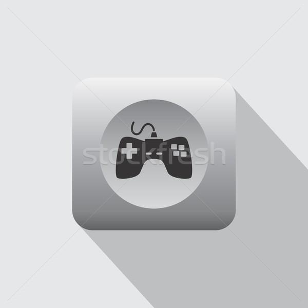 ビデオゲーム コンソール ベクトル 芸術 グラフィック 実例 ストックフォト © vector1st