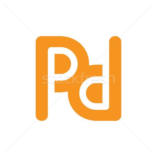 Stockfoto: Brief · logo · kunst · bouw · ontwerp