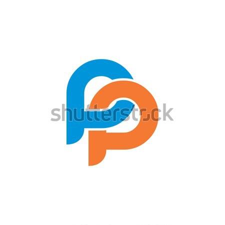 initial letter brand logo template logotype Stock photo © vector1st