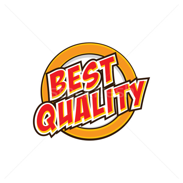 best quality label Stock photo © vector1st