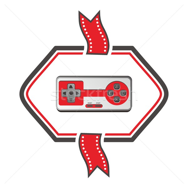 video game console theme art Stock photo © vector1st