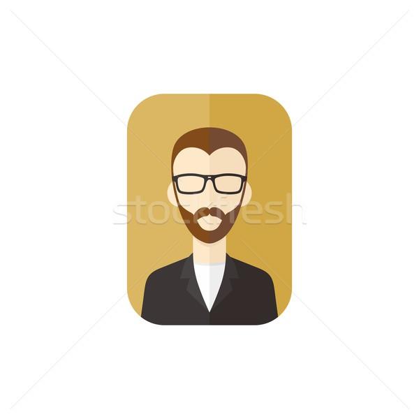 Homme avatar utilisateur photos Photo stock © vector1st