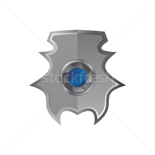 Escudo arte ilustración vector gráfico diseno Foto stock © vector1st