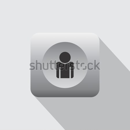 contact book icon Stock photo © vector1st