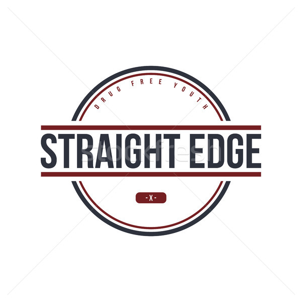 straight edge badge label Stock photo © vector1st