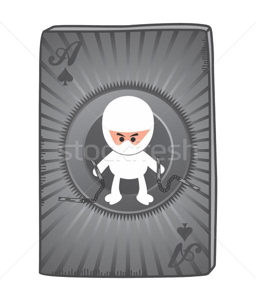 cartoon ninja Stock photo © vector1st